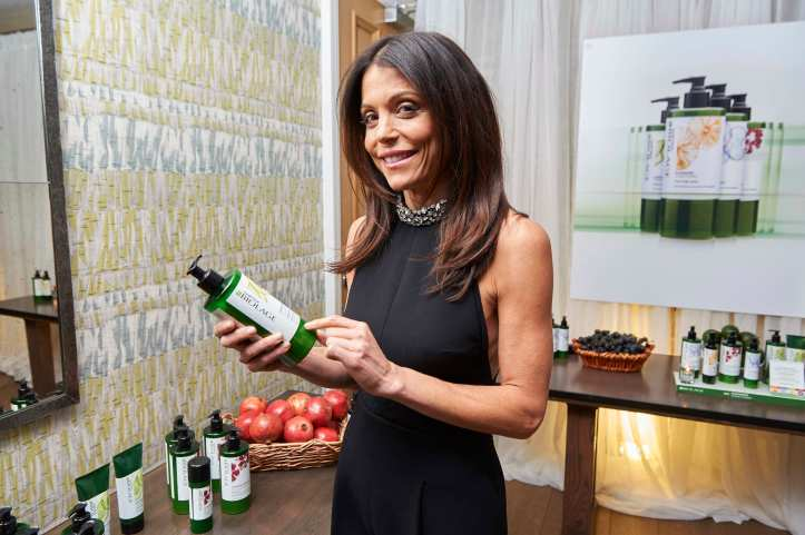 Bethenny Frankel checking out Matrix Biolage
