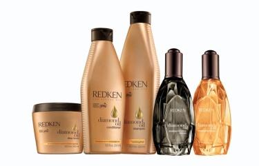 Redken diamond oil collection  Photo courtesy of  Beautypress