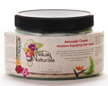 Alikay Naturals Avocado repair mask detangles before washing