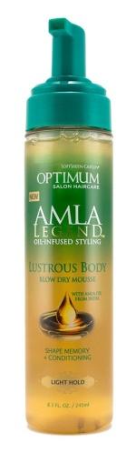 Optimum Amal Legend blow dry mousse