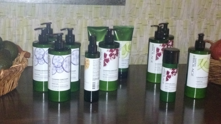 Matrix Biolage Cleansing Conditioners