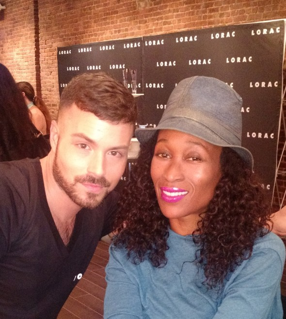 After my make over with LORAC Pro Artist Dean Founier