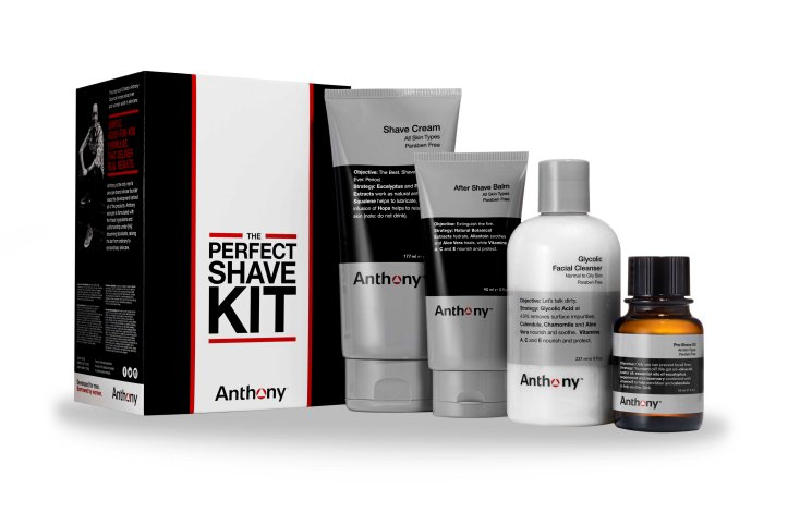 The Perfect Shave Kit w Product