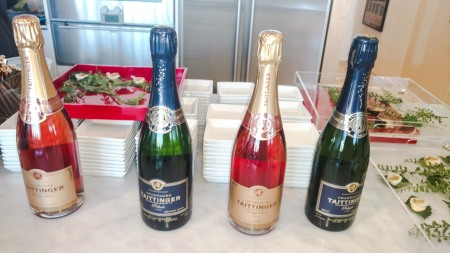 Taittinger Champagne options