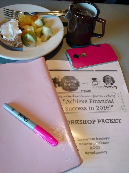 Women and Money ! CleverGirlFinances workshop