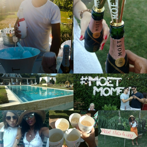 Revolve Summer House in the Hamptons Featuring MoetandChandonIce