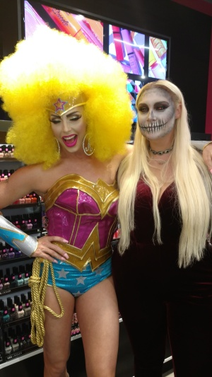 Superhero and Zombie looks